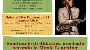 "Trento, Seminario ""Improvvisando s'impara"""