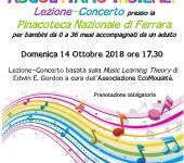 Lezione Concerto a Ferrara