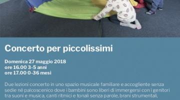 Concerto per piccolissimi Arezzo, maggio 2018